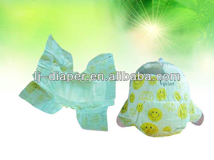 Hot-sale cloth-like disposable sleepy baby diaper