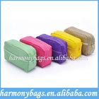 Colorful promotion cotton men toiletry bag