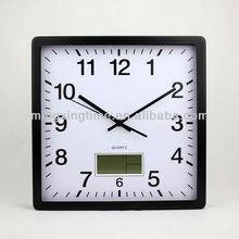 rectangular metal led light digital wall clock of best sell