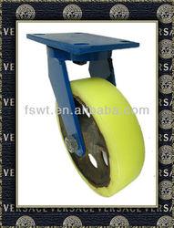 Hardware Super Heavy Duty Industrial Iron-core Nylon/PP Swivel Caster wheel