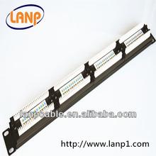 Cat5e Patch Panel/UTP& FTP 24Port/48Port