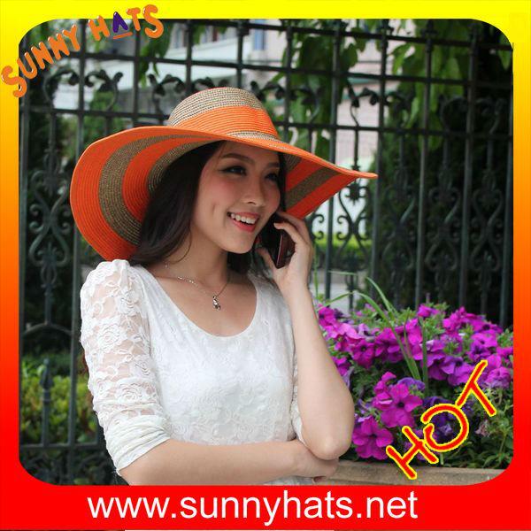 Women straw hat,floppy straw hat,wide brim straw hat