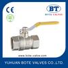 BT1014 brass valve with nickel plated 600 WOG