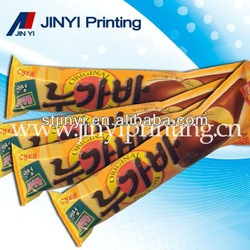 Auto-packaging machine printed fastfood packaging