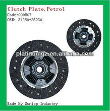 toyota hiace 2005 clutch disc (petrol) 31250-26230 (#000507)