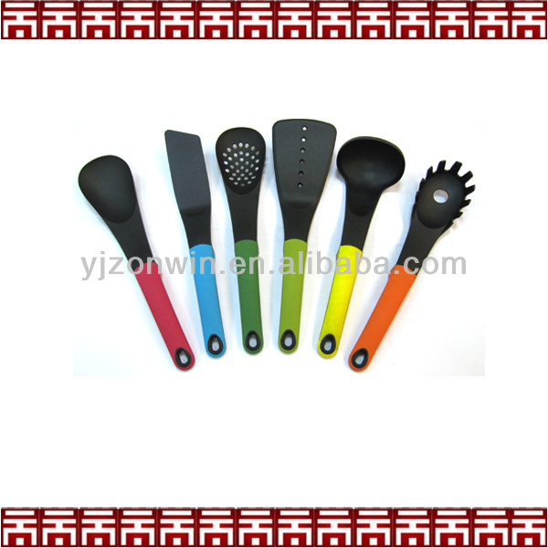 colorful plastic kitchenware wholesale for cooking accessory