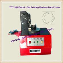 Electric round Plate Ink Pad Printing Machine/ Plate Pad Printing Machine