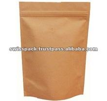 Stock Kraft Paper Shopping Bag