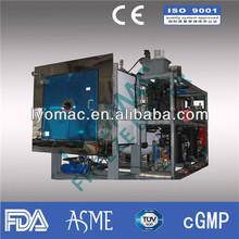 100KG drying capacity Production vacuum freeze dryer/ lyophilizer machine for pharmaceutical