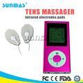 sunmas sm9022 novos equipamentos médicos de choque elétrico de massagem nos pés