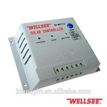 Fora da rede de alta qualidade solar controlador de carga 12 V 24 V 15A para o painel solar WS-MPPT15
