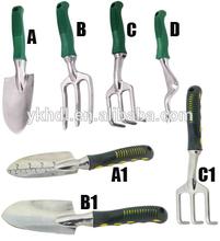 aluminum garden tool /trowel/ fork /rake /hoe,hand tool,