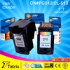 PG-512 CL-513 Ink Cartridge for Canon PG 512 CL513 Cartridge Ink . Reman PG512 CL513 Cartridge for Canon
