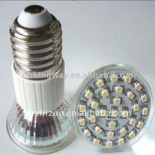 3528smd 24LEDs lamp cup-led bulb-glass led bulb- glass smd LED lamp cup