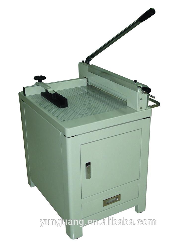 YG 858 A3 heavy duty manual paper cutting machine price