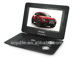 10 inch portable dvd player with tv and game function