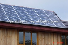A Grade 280W Monocrystalline Solar Panel(156mm Cell)