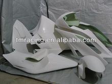 motorcycle Fiberglass race fairing kit Bodywork for R6 2006-2007