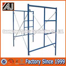 Guangzhou Manufacturer Q235 Steel Ladder Frame Scaffolding