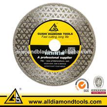 Electroplated Diamond 4.5'' Circular Round Marble Cutting Blade