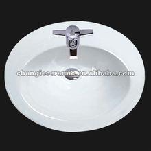 CGC-100812-CN, porcelain basin,vanity top basin 1008