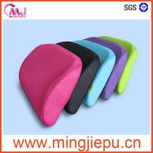 memory foam back support cushion,lumbar cushion,waist cushion