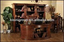 Lüks tasarım katı ahşap ofis masası, yüksek kaliteli katı ahşap ofis masası, kullanılan masif ahşap masaları( bg600065)