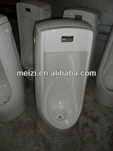 Floor standing ceramic bathroom sensor urinal