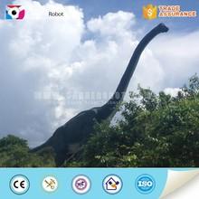 Outdoor decorative waterproof brachiosaurus dinosaur