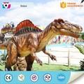 Parque de atracciones de tamaño real de motor dinosaurio