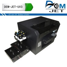 Price of A3 uv flatbed printing machines/printer price for business phone case