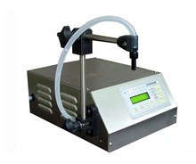 digital control liquid filling machine, LCD display, touch screen is very easy to operate