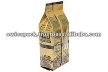 Side Gusset Foil Pouch for Tea