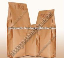 Kraft Tin Tie paper packaging Bags