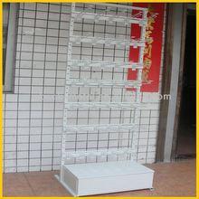 floor standing supermarket basketball display rack