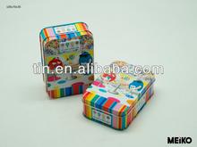 Cartoon metal pencil tin box