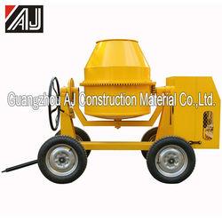 Gasoline/Electric Motor/Diesel Portable Concrete Mixer with260L,300L,350L,400L,500L Charging Capacity,Guangzhou Supplier