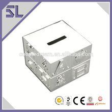 Customized Logo Printed Money Saving Metal Box Manufacturer