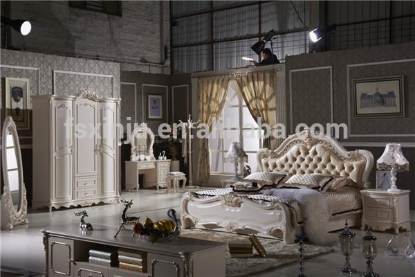 Mobilier de chambre se lit de style princesse indon sie adulte l102a chambre ensemble de - Chambre de princesse adulte ...