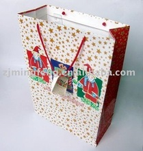 Colorful promotional paper bag for shopping(wz4424)