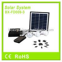 2014 New Solar Lighting System Solar Energy Kit