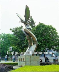 eagle sculpture modern steel sculpture abstract sculpture