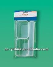 plastic Travel Sets,cosmetic travel bag 4 set