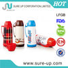 kids mini insulated glass plastic thermos vacuum bottle