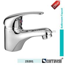 brass body zinc single handle water basin faucet(mixer,tap) 23201