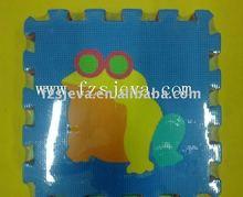 Non-toxic foam animals play mat, kids play animals foam mat