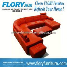 2013 new designs top grade leather sofa
