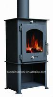 indoor modern wood stoves
