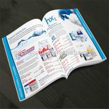 promoción oem plegable colorido de uñas de impresión de carteles en guangzhou