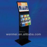 Acrylic POS Shelf Display, Brochure Stand( AD-015)